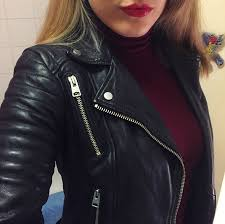 all saints papin leather biker jacket review