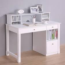 cool white desk with shelves exquisite ideas unique computer fantastic bookshelf and