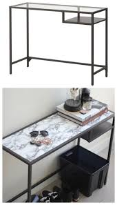 5 easy furniture makeovers that skip the paint ikea glass tableikea
