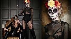 easy mexican sugar skull day of the dead makeup tutorial laura sommerville