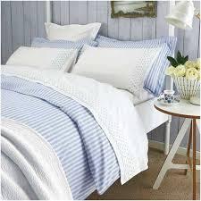 navy blue white striped double duvet cover bed set co uk