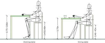 Standard Desk Sizes Office Dimensions Depth Size Mm Height O