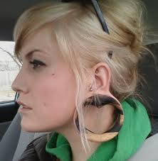 biggest gauge size ear stretching information ear gauges and plug earrings