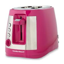 Pink Small Kitchen Appliances Hamilton Beach Brands Inc Ensemble Extra Wide Pink 2 Slice