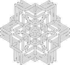 Small Picture images of printable hard geometric coloring pages Geometric