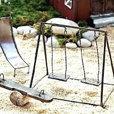 diy fairy garden furniture fairy garden swing swings furniture supplies and small outdoor fairy garden swing diy fairy garden