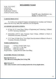 Download Resumes Format Brilliant Ideas Simple Resume Format ...