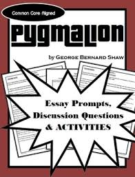 pyg on discussion questions essay topics activities essay  complementary discussion questions essay topics and activities for pyg on by george bernard shaw