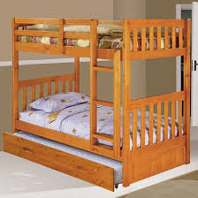 One Honey Twin/Twin Bunk Bed, One 6 Drawer Double Dresser, and One Chair