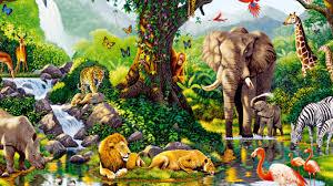real jungle animals.  Jungle 1366x768 Jungle Animals  Inside Real
