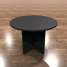 amber round conference table black 42 patio and chairs