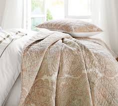 Audrey Paisley Print Quilt & Sham   Pottery Barn & Roll Over Image to Zoom Adamdwight.com