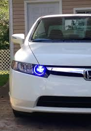 2008 Honda Civic Daytime Running Lights Added Blue Daytime Running Lights But Took Them Off Because
