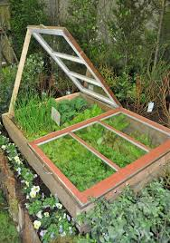 cold frame garden. a cold frame like this one at the recent portland yard, garden and patio show