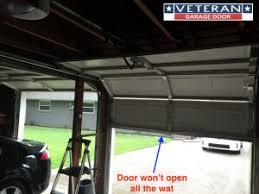 garage door will not openWhy wont my garage door opener open the door all way up