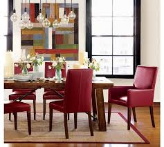 an arm chair is the perfect dining room chair style for either end of a rectangular dining table this type of dining room chair add depth not to mention a