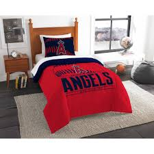 mlb los angeles angels grand slam bedding comforter set