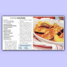 Resultado de imagem para imagens de receita de  CORVINA