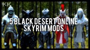 5 Black Desert Online Armor Mods ...