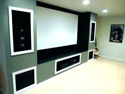 projector screen wall paint wall mounted projector screen paint home theater inc silver best black ideas projector screen wall paint