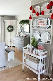 Kitchens Decorated For Christmas 17 Best Ideas About Christmas Dining Rooms On Pinterest Xmas