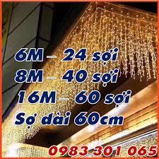 Giá bán Đèn thả rèm mành 6m 8m 16m LED Trang Trí Ngoài Trời Trang Trí Sự  Kiện Nhà Cửa Sảnh Quán Cafe