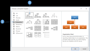 Build An Org Chart In Word 47 Systematic How To Create A Hierarchy Chart