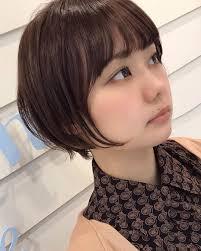 撮影東京ベリーショートサロンモデルヘアスタイルショート小顔
