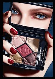 dior 5 couleur eyeshadow collection model