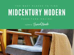 Download my mid-century modern furniture shopping guide - Boreal Abode