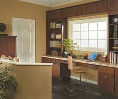cabinets for home office. casual office cabinets by homecrest cabinetry for home i