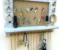 necklace wall hangers little black dress hanging jewellery metal jewellery wall hangers