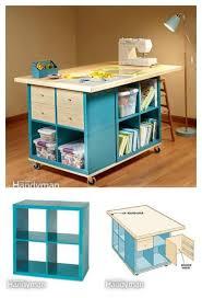 Sweet Idea Sewing Room Furniture Simple Ideas Organization