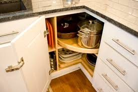 Cutting Board Cabinet One Cabinet With Wood Lazy Susan Without Center Pole And A Wood