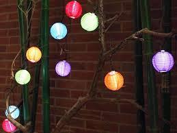 10pc led solar powered garden lantern lights