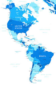 north and south america map – renewable fuels association