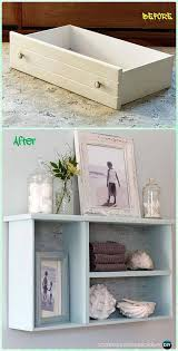 no more junk drawer charming diy wall shelves