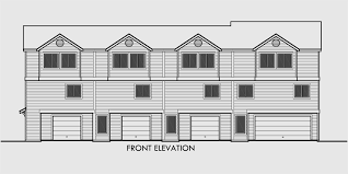 19 Genius One Bedroom Duplex Plans  House Plans  35703Quadplex Plans