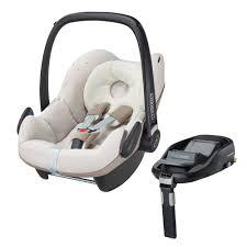 maxi cosi pebble car seat in digital rain and familyfix isofix