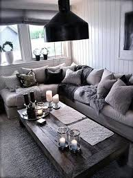 extraordinary black and grey living room ideas grey letter l sofa rectangle wooden table black cushion