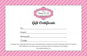 customized gift certificate templates 21 free free gift certificate templates word excel formats