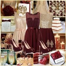 Cranberry and Gold Wedding | Wedding colors, Gold wedding, Wedding
