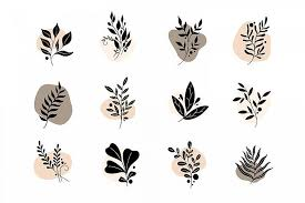 You can download them in png format. Icon Set Nature 453691 Illustrations Design Bundles In 2020 Icon Set Design Flower Icons Icon Set