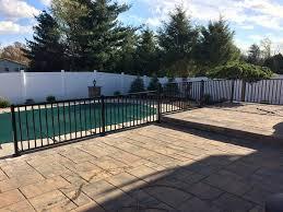 black vinyl privacy fence. 2017 Black Aluminum Fence Vinyl Privacy U