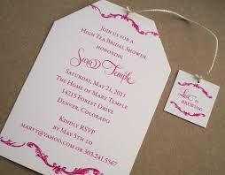 High Tea Bridal Shower Invitations Dhavalthakur Com