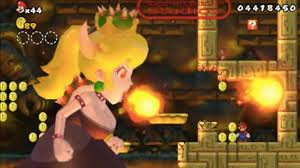 you can fight bowsette in new super mario bros u mod