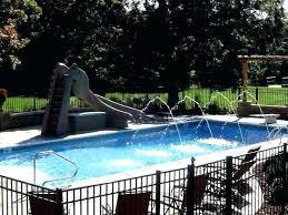 slide for inground pool water pools with waterslides o79 inground