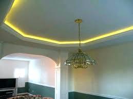tray ceiling lighting. Diy Tray Ceiling Lighting Led Rope Light Ideas Kitchen Modern Faux