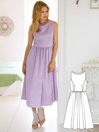 Fit And Flare Dress Pattern Delectable Fit And Flare 48 New Women's Sewing Patterns Sewing Blog