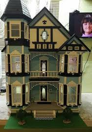 Pin by Ivy Bishop on RGT Painted Lady Dollhouse kit | Real good toys,  Dollhouse decor, Dollhouse kits